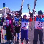 Les coureurs de l' équipe d'ADISHAT  LAVANTES Pierre